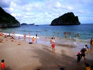Ha Noi – Ha Long bay – Catba Sandy Beach resort 2 days – 1 night