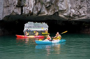 Exciting Experience with Kayaking on Ha Long Bay