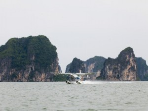 The Beauty of Halong Bay View From Seaplane