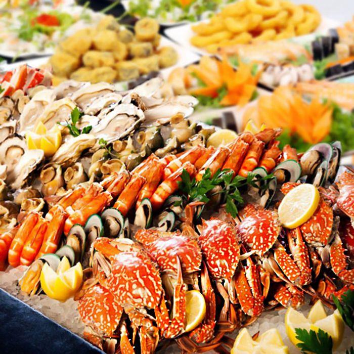 Kết quả hình ảnh cho hải sản tươi sống