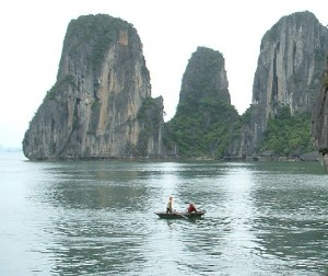 Three- Peach Islet in Ha Long Bay