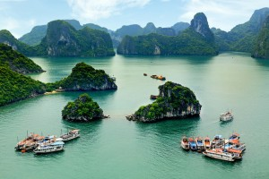 Ha Long Bay on the Top as Nice Destinations as in Mythological Stories