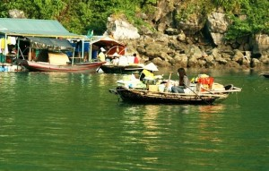 Cong Do Island in Ha Long Bay