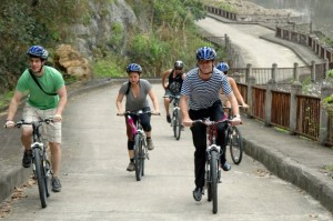 [Ha Long Travel] Cycling – Trekking on The Beach of Halong Bay