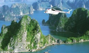 [Ha Long Travel] Unforgettable Experience with Helicopter Tour