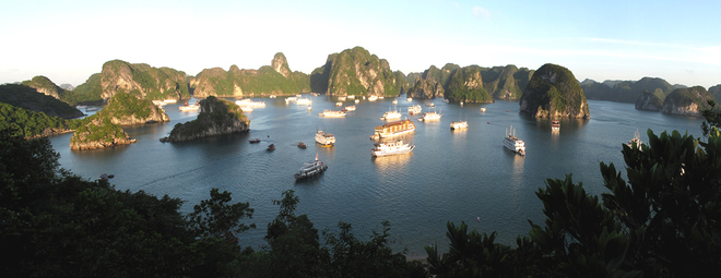 Ha Long Bay Viewed From High Mountains  (3)