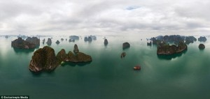 Ha Long Bay- Stunning And Majestic Beauty From High