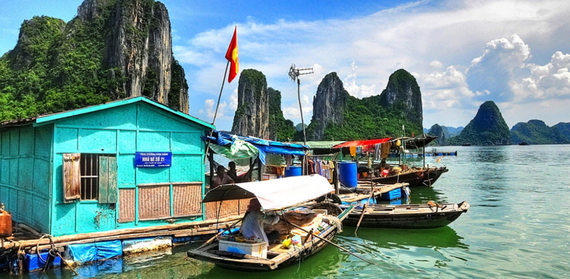 Huffington Post Selected Cua Van Fishing Village As An Ideal Destination (1)