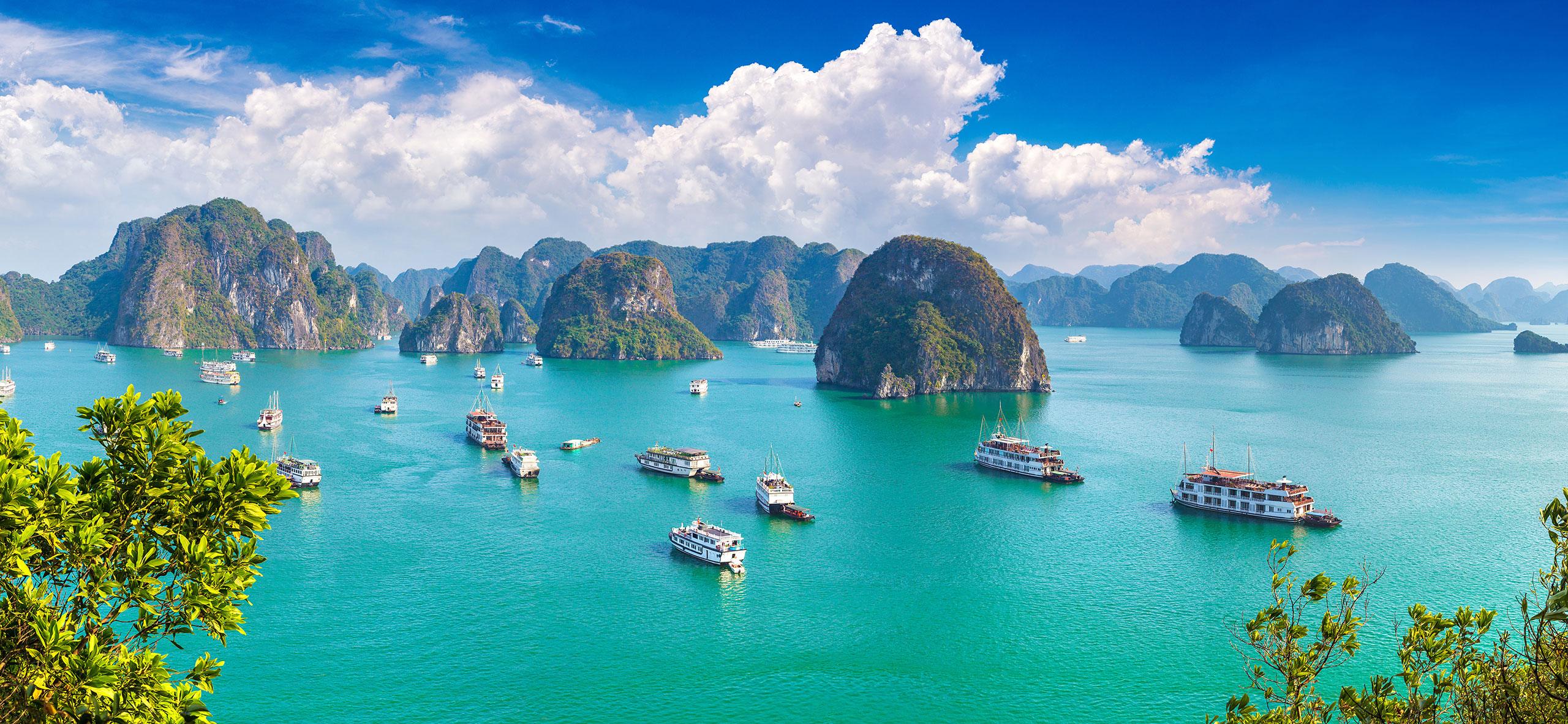 Ha Long Bay in Spring