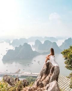 Bai Tho mountain – Incredible view in Ha Long