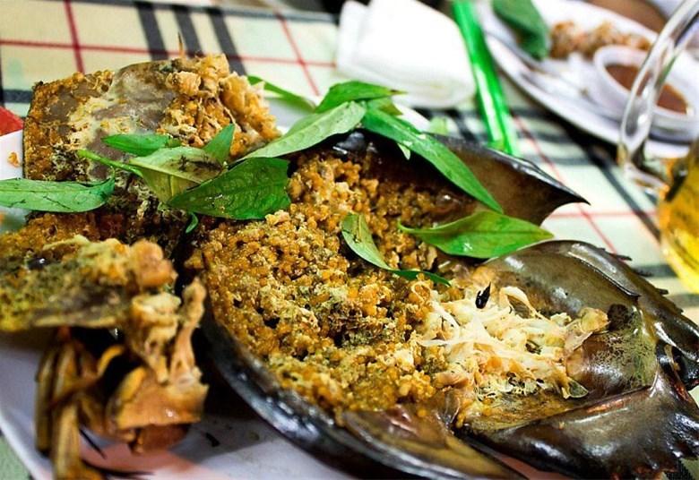 Horseshoe crab ( Sam bien)
