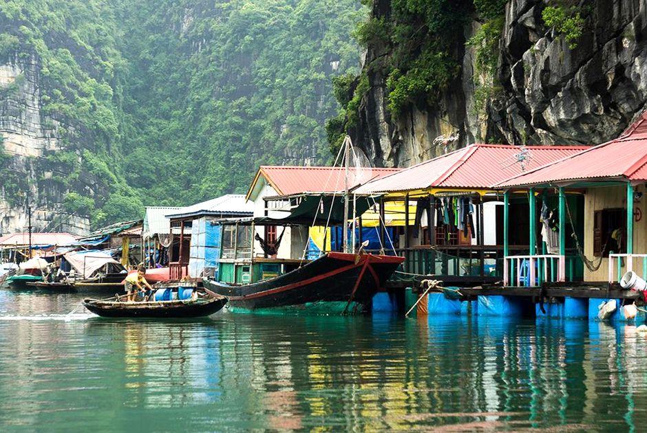 Ba Hang village, next to Heaven palace cave