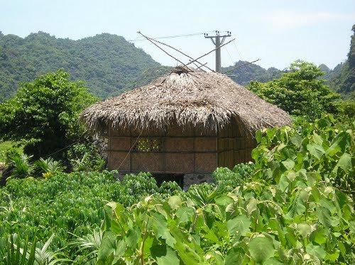 A house in Viet Hai village, where people still live mostly the way they do hundreds years ago