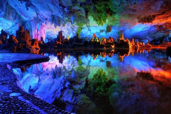 Stunning landscape inside