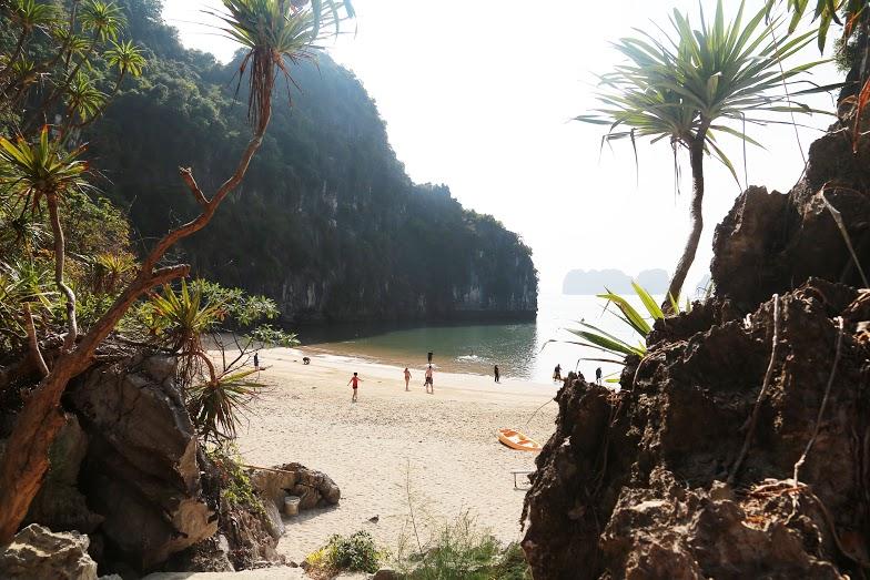 The primitive Ban Chan beach