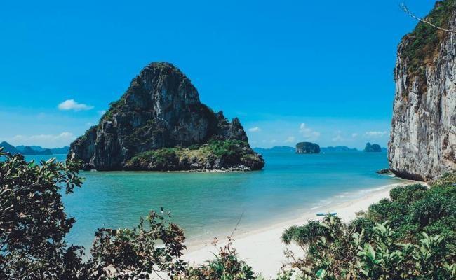 The pristine Ban Chan beach