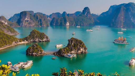 Halong bay-a wonder of nature