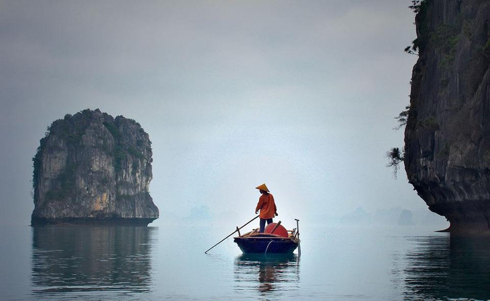 Ha Long Bay in Winter