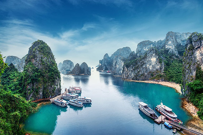Ha Long Bay in Spring
